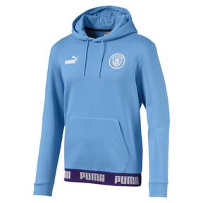 Miniatura 1 de Sudadera con capucha Manchester City FC FtblCulture para hombre, Team Light Blue-Puma White, mediano
