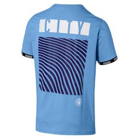 Thumbnail 2 of Man City Men's Football Culture Tee, Team Light Blue, medium
