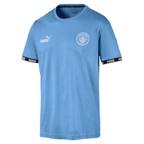 Thumbnail 1 of Manchester City FC FtblCulture Men's Tee, Team Light Blue, medium