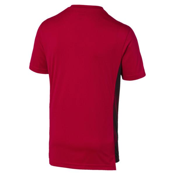 AC Milan Men's Stadium Jersey, Tango Red -Puma Black, large