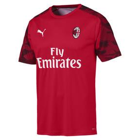 Thumbnail 4 of AC Milan Men's Training Jersey, Tango Red -Puma Black, medium