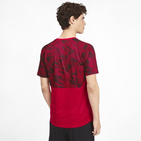 AC Milan Men's Training Jersey, Tango Red -Puma Black, large