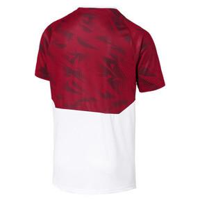 Thumbnail 5 of AC Milan Men's Training Jersey, Puma White-Tango Red, medium