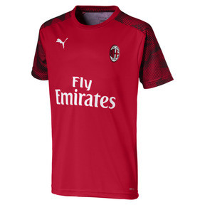 Camiseta deportivaAC Milan para niño joven