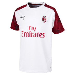 AC Milan Short Sleeve Kids' Training Jersey