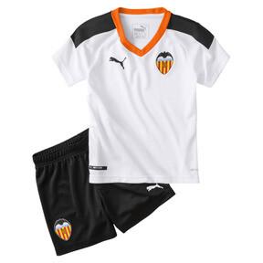 Minikit de la primera equipación de niño Valencia CF