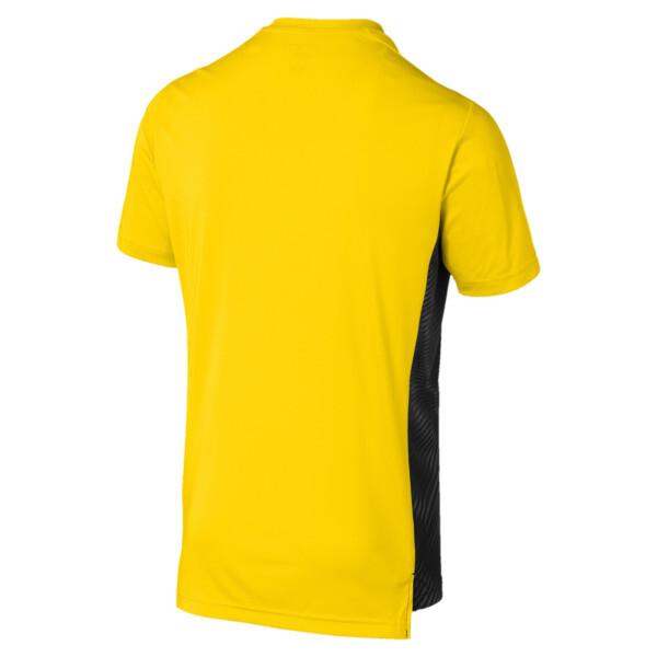 Camiseta BVBLeague Stadium de hombre, Cyber Yellow-Puma Black, grande
