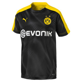 Thumbnail 1 of BVB Kinder League Stadium Trikot, Puma Black, medium