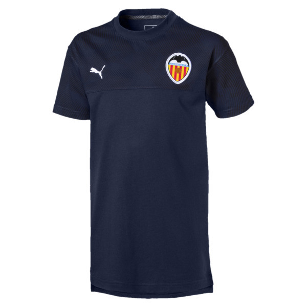 Valencia CF Casuals Kids' Tee, Peacoat, large