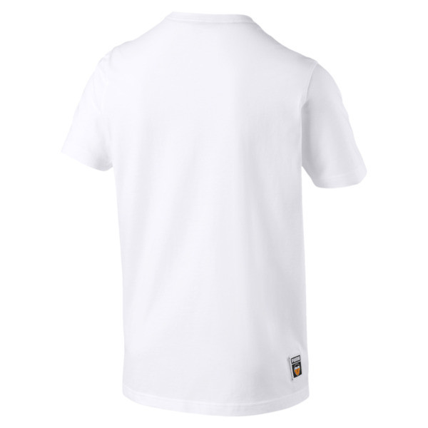 Valencia CF Shoe Tag Men's Tee, Puma White, large
