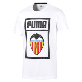 Thumbnail 1 of Valencia CF Shoe Tag Men's Tee, Puma White, medium