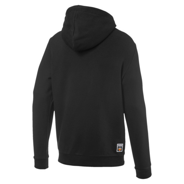 Valencia CF Shoe Tag Men's Hoodie, Puma Black, large