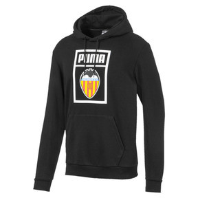 Thumbnail 1 of Valencia CF Shoe Tag Men's Hoodie, Puma Black, medium