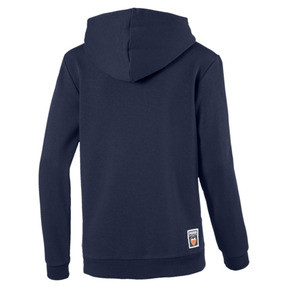 Thumbnail 2 of Valencia CF Shoe Tag Kids' Hoodie, Peacoat, medium