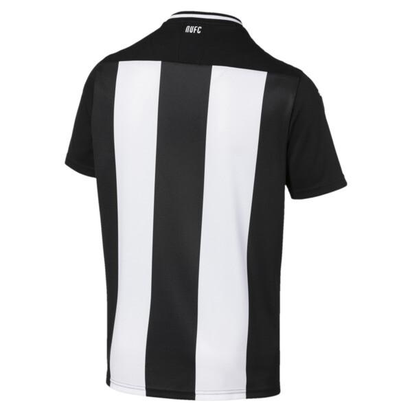 Newcastle United FC Men's Home Replica Jersey, Puma White-Puma Black, large