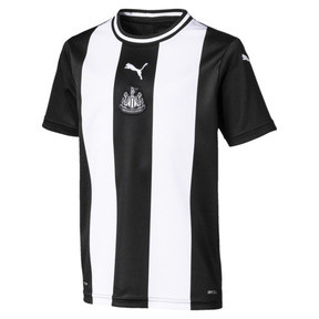 Newcastle United FC Kids' Replica Home Short Sleeve Jersey