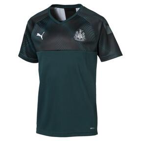 Camiseta de la segunda equipación de réplica de niña Newcastle United