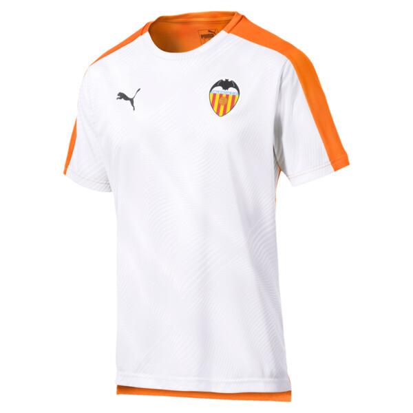 Valencia CF Men's Stadium Jersey, Vibrant Orange-Puma White, large