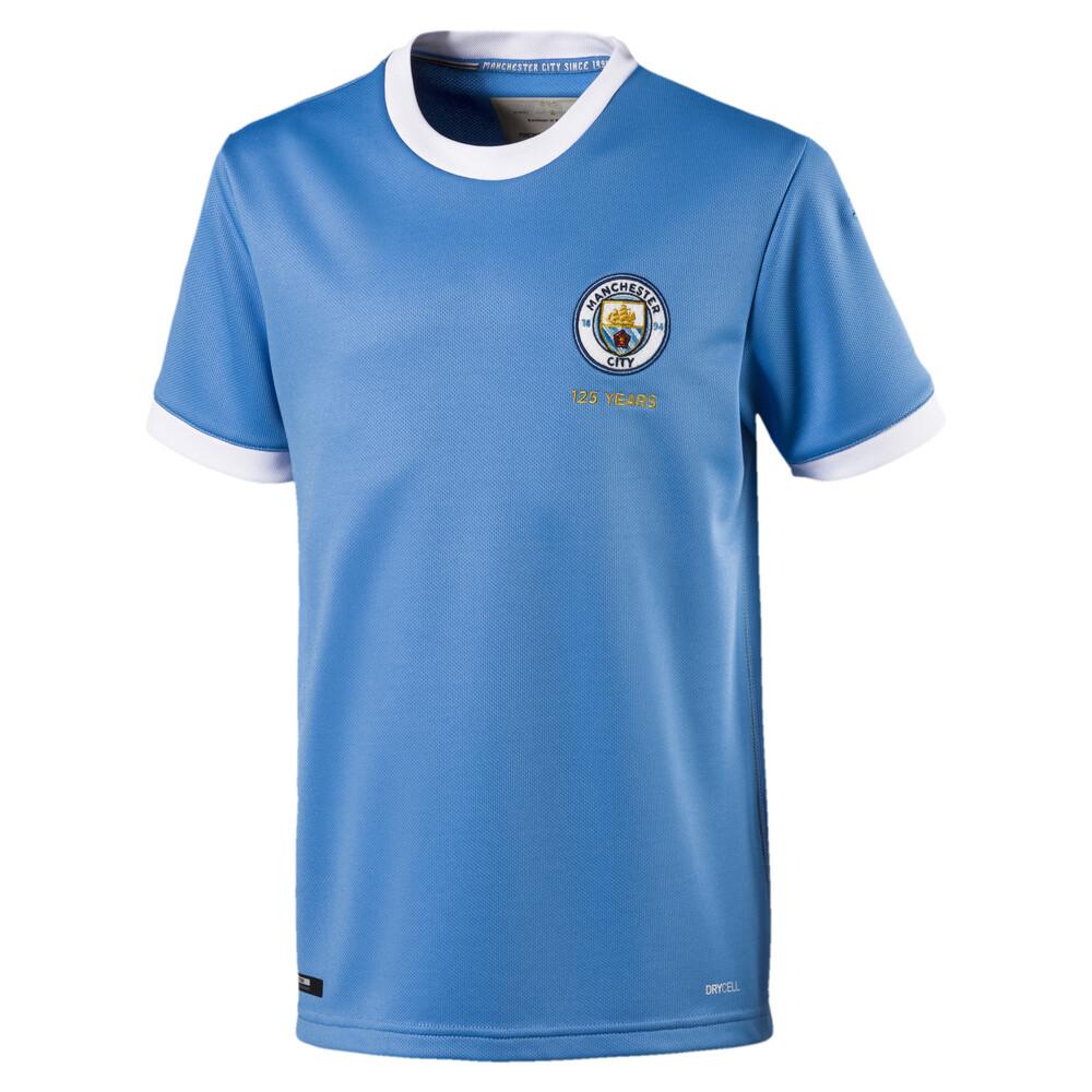 Image Puma Manchester City Kids' 125 Year Anniversary Jersey #1