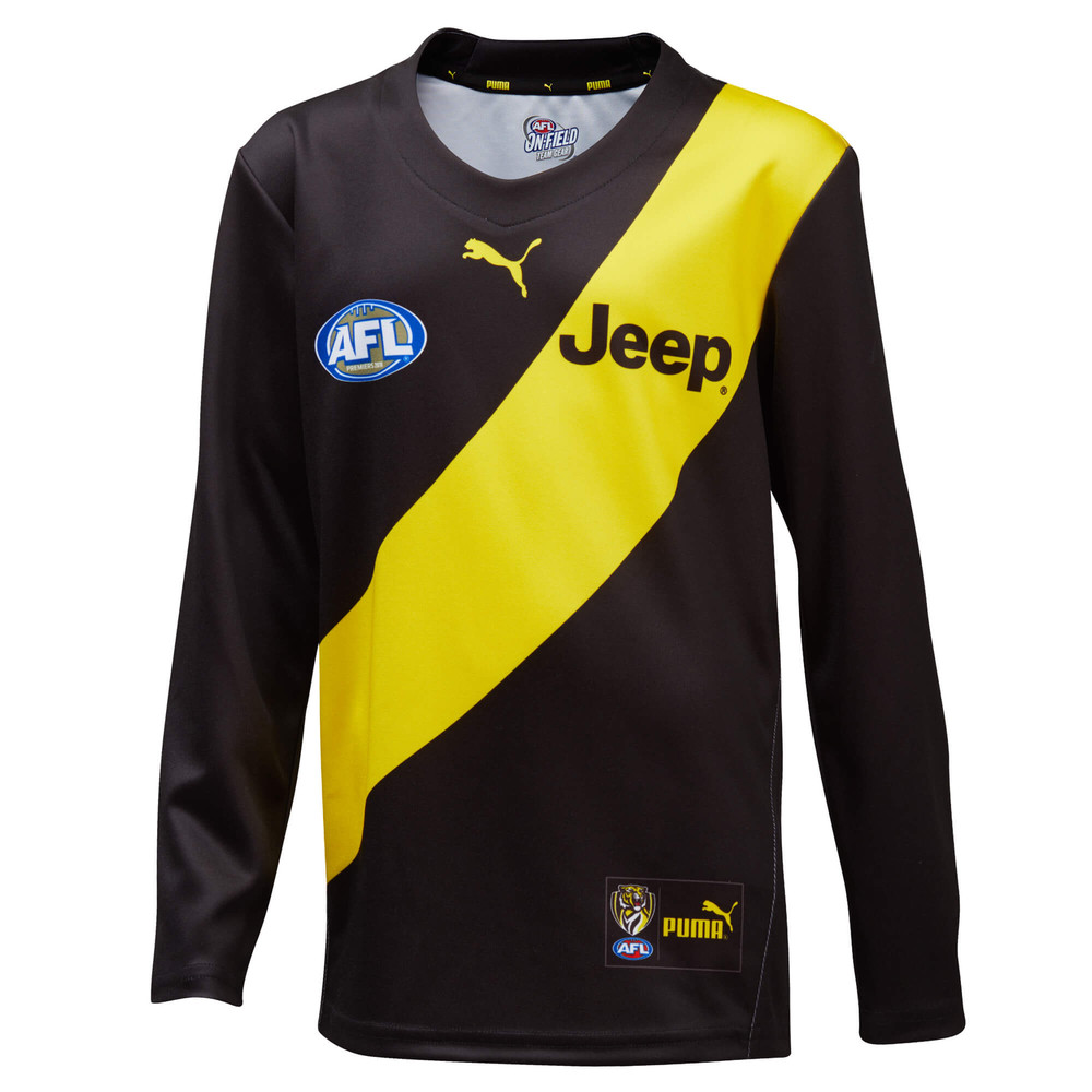 Image PUMA Richmond Football Club 2020 Youth's Replica Long Sleeve Home Guernsey #1
