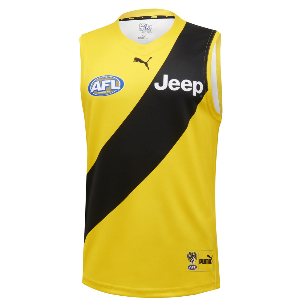 Image PUMA Richmond Football Club 2020 Men's Replica Clash Guernsey #1