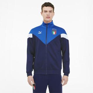 Image PUMA Jaqueta FIGC Italia Iconic MCS Track Masculina