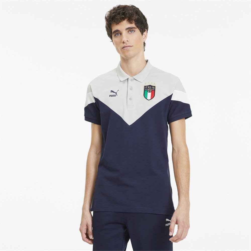 Image Puma Italia Iconic MCS Men's Polo #1