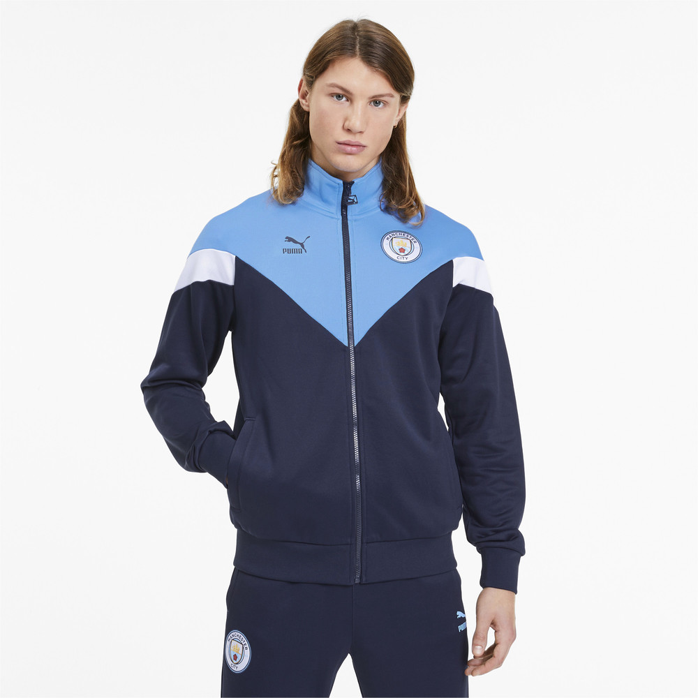 Image Puma Man City Iconic MCS Men's Track Jacket #1