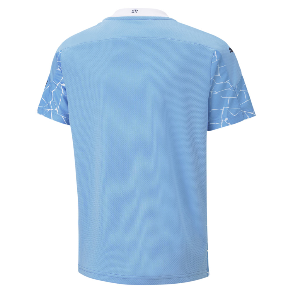 Image Puma Man City Home Replica Youth Jersey #2