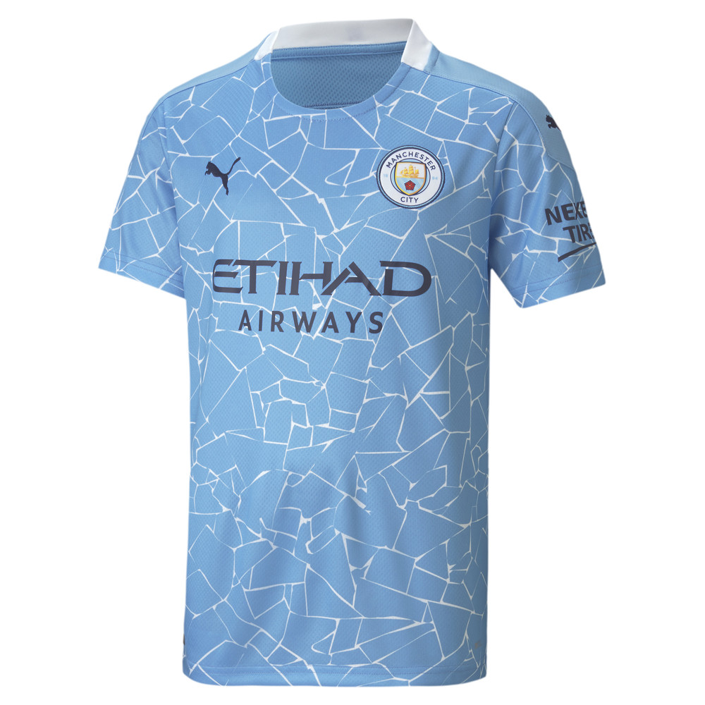 Image Puma Man City Home Replica Youth Jersey #1