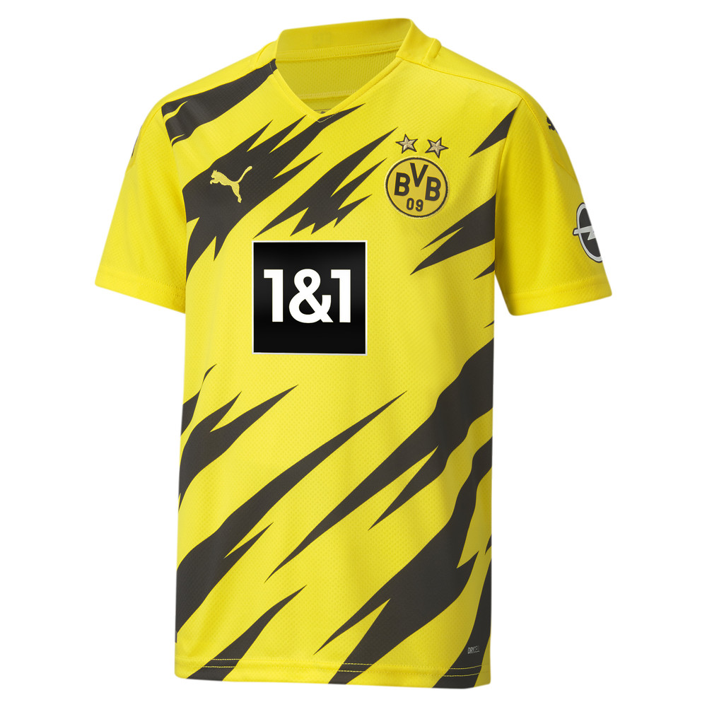 Image Puma BVB Home Replica Short Sleeve Youth Jersey #1