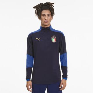 Image PUMA Camisa de Treino FIGC Italia 1/4 Masculina