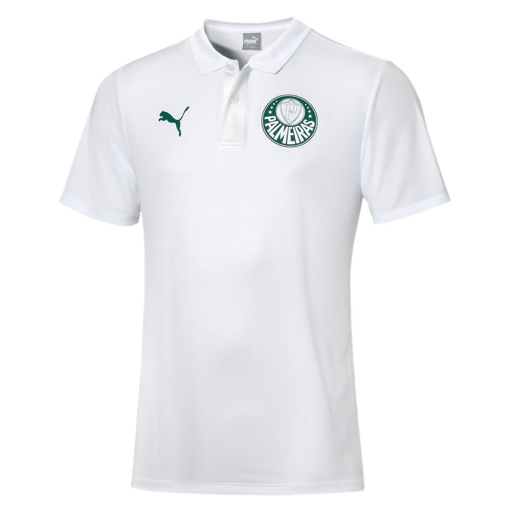 Image PUMA Camisa Palmeiras Polo Casual Goal Masculina #1