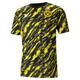 Camiseta estampadaBVBIconic MCS para hombre, Puma Black-Cyber Yellow, pequeño