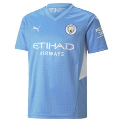 Man City Home Youth Jersey