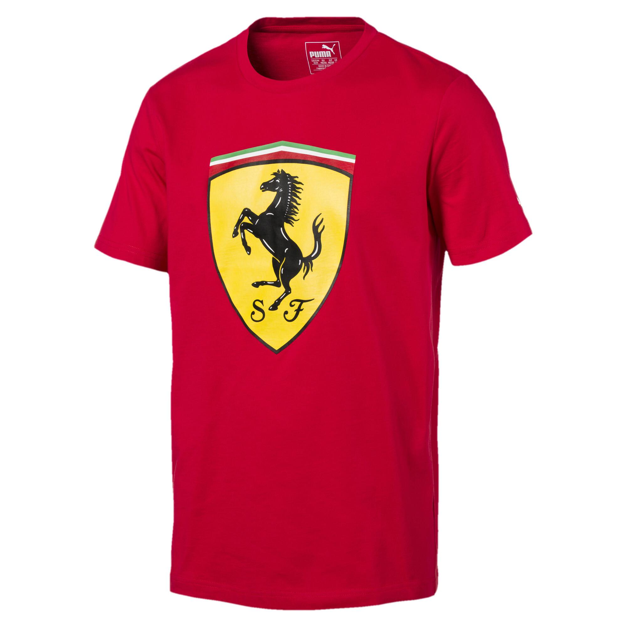 Image Puma Ferrari Men's Big Shield T-Shirt #1