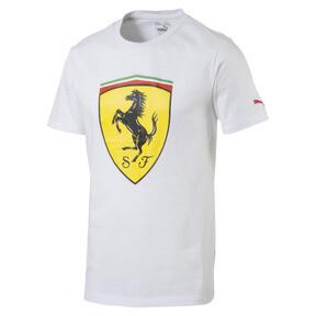 Thumbnail 1 of Ferrari Herren Big Shield T-Shirt, Puma White, medium