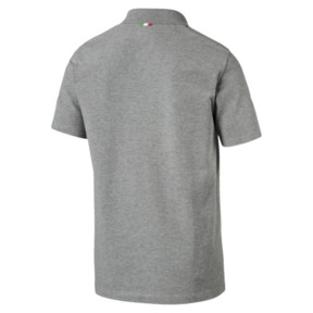 Thumbnail 3 of Ferrari Polo Shirt, Medium Gray Heather, medium