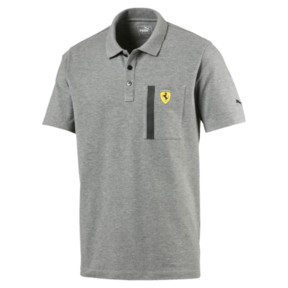 Thumbnail 1 of Ferrari Polo Shirt, Medium Gray Heather, medium