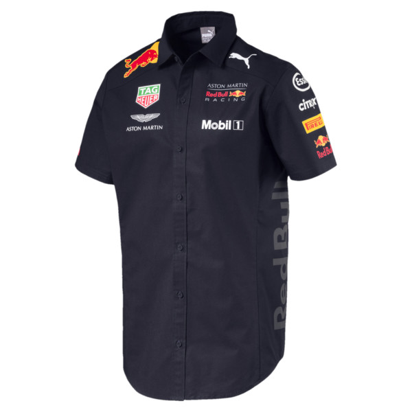 Chemise ASTON MARTIN RED BULL RACING Team pour Homme, Noir, Taille XS | PUMA