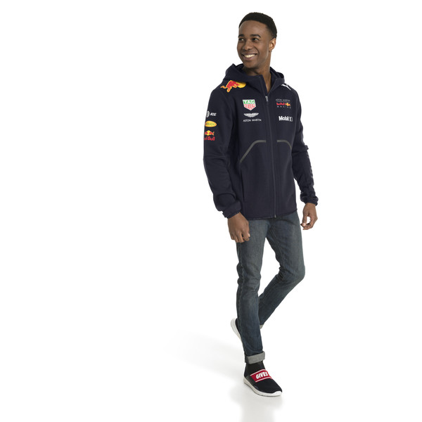 ASTON MARTIN RED BULL RACING Men's Team Jacket, NIGHT SKY, large