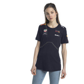Anteprima 2 di ASTON MARTIN RED BULL RACING Women's Team T-Shirt, NIGHT SKY, medio
