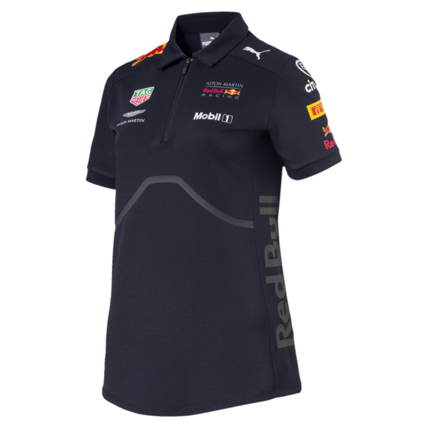 Polo de mujer ASTON MARTIN RED BULL RACING, NIGHT SKY, grande