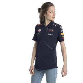 Thumbnail 2 of ASTON MARTIN RED BULL RACING Women's Team Polo, NIGHT SKY, medium