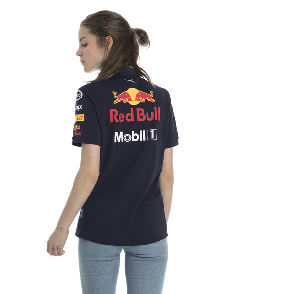ASTON MARTIN RED BULL RACING Women's Team Polo, NIGHT SKY, large