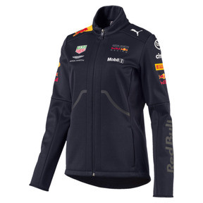 Thumbnail 1 of ASTON MARTIN RED BULL RACING Damen Team Softshelljacke, NIGHT SKY, medium