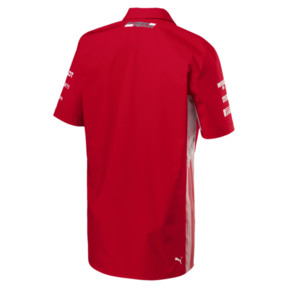 Thumbnail 3 of Scuderia Ferrari Men's Team Shirt, Rosso Corsa, medium
