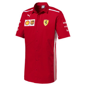 Thumbnail 1 of Scuderia Ferrari Men's Team Shirt, Rosso Corsa, medium