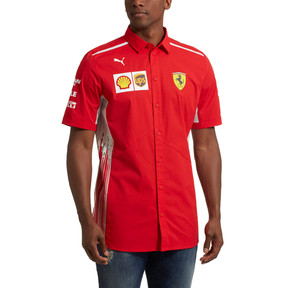 Thumbnail 2 of Scuderia Ferrari Men's Team Shirt, Rosso Corsa, medium