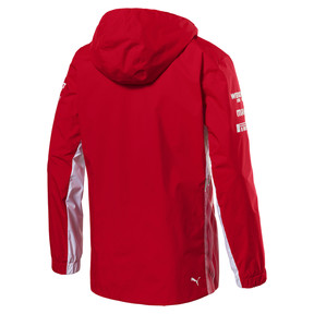 Thumbnail 3 of Scuderia Ferrari Men's Team Jacket, Rosso Corsa, medium